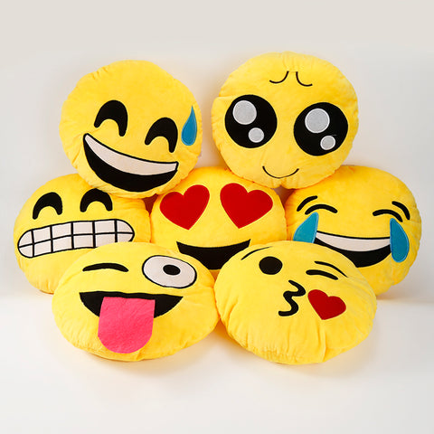 Buy the Emoji Pillows at Koobee