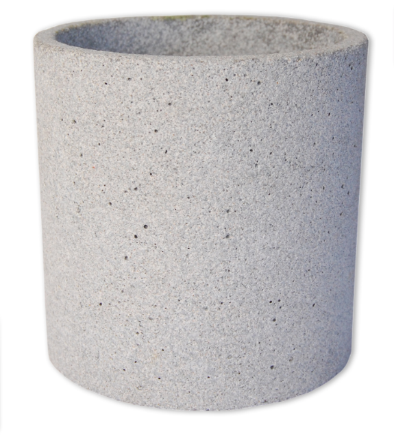 Zakkia Concrete Pot Natural - Large