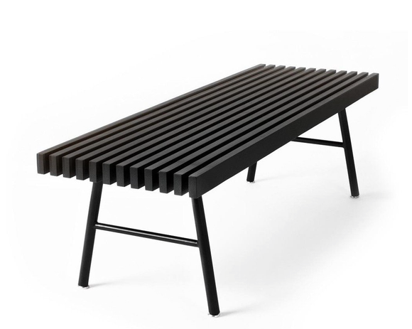 Globe West - Gus Transit Bench - Black Ash