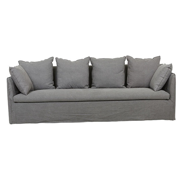 Globe West - Vittoria Slipcover 4 Seater Sofa
