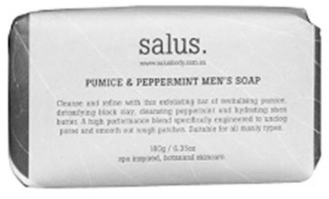 Salus - Pumice & Peppermint Men's Soap - 180g