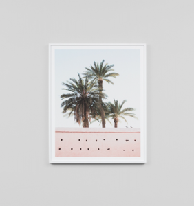 Middle of Nowhere - Marrakech Framed Print
