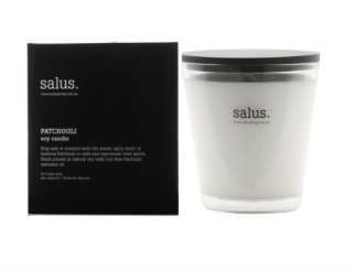 Salus - Patchouli Soy Candle - 60 hours