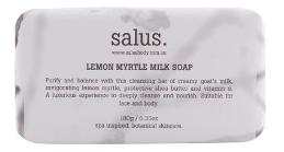Salus - Lemon Myrtle Milk Soap - 180gms