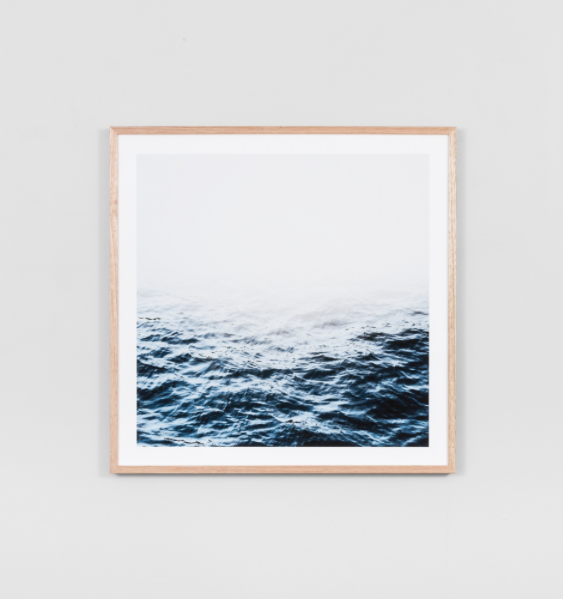 Middle of Nowhere - Distant Waters Framed Print