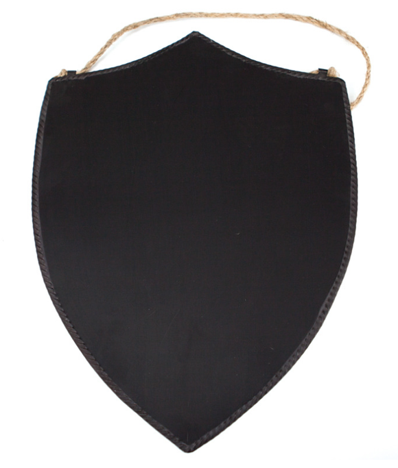 Down To The Woods - Blackboard Shield - Large