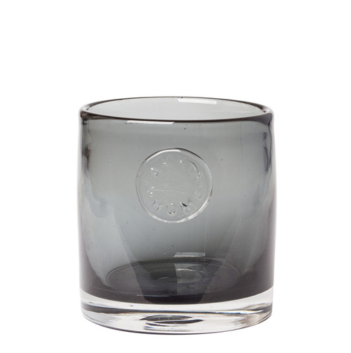 Zakkia Glass Votive Smoke
