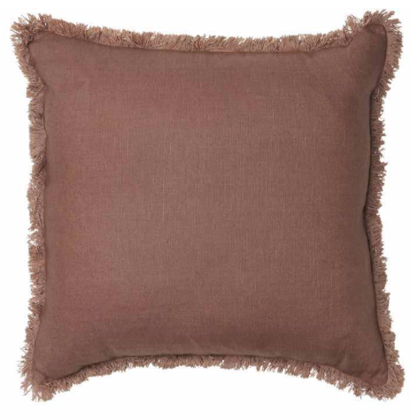 Eadie Lifestyle - Luca Bohemian Linen Cushion With Fringe - 60 x60