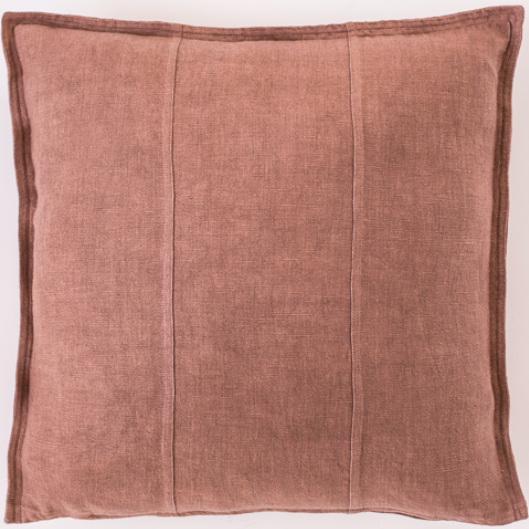 Eadie Lifestyle - Linen Cushion - Desert Rose - 50cm x 50cm