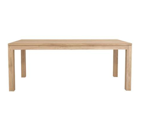 Globe West - Oak Dining Table - 8 Seat