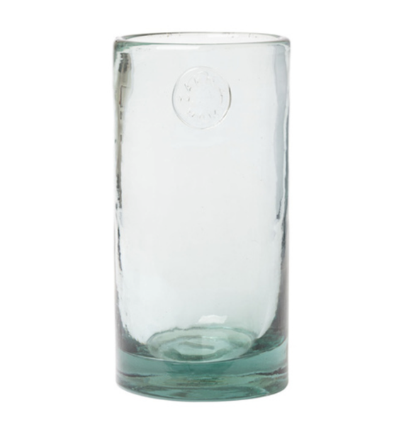 Zakkia Glass Vase - Aqua