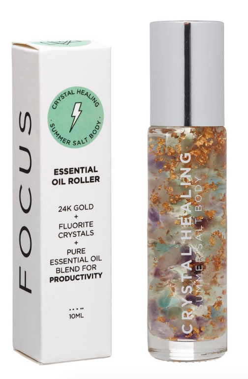 Summer Salt Body - Focus Essential Oil Roller
