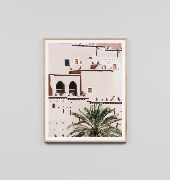 Middle of Nowhere - Morocco Framed Print