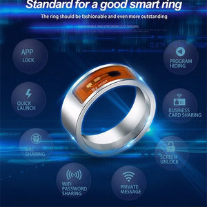 Cool NFC Multifunctional Waterproof Intelligent Digital Smart Ring Unisex Android Windows High Speed Magic Finger Rings Wear - Always Happy Shopping
