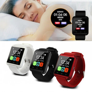 U8 Bluetooth Smart  Sport Wristwatch For Android&IOS Iphone - Always Happy Shopping