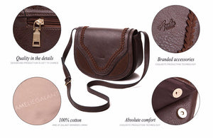 AMELIE GALANTI Vintage women crossbody bags causal messenger - Always Happy Shopping