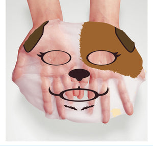 4 PCS BIOAQUA Skin Care Sheep/Panda/Dog/Tiger Four Types Optional Facial Mask Moisturizing Oil Control Cute Animal Face Masks - Always Happy Shopping