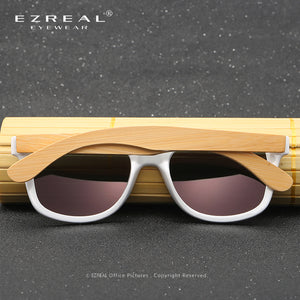 EZREAL Men's Women Polarized Sunglasses Wood Bamboo - Always Happy Shopping
