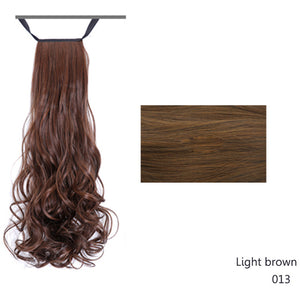 SHANG KE Schignon Heat Resistant Fake Hairstyles Long Wavy - Always Happy Shopping