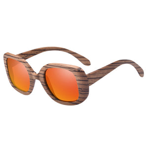AOFLY Polarized Wooden Sunglasses Original Wood Sun Glasses For Women - Always Happy Shopping