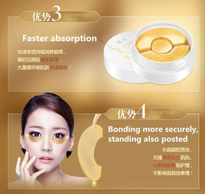 Gold Aquagel Collagen Eye Mask Sleep - Always Happy Shopping