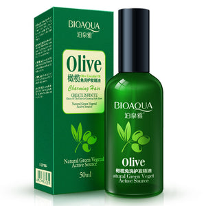 50ml BIOAQUA Natural Olive Essence Hair Care Essential Oils Moisturizing - Always Happy Shopping