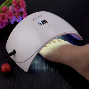 SUNUV SUN9s  24W UV LED Light Nail Dryer with USB Charging Cable Professional - Always Happy Shopping