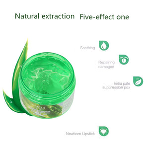 Aloe Vera Gel Repair Skin Care Face Cream Night Cream Whitening Moisturizing Essence Anti Winkle Acne Pimple Remove Aloe Serum - Always Happy Shopping