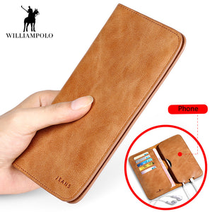 Men's wallet made of genuine leather, model 2018 - Always Happy Shopping