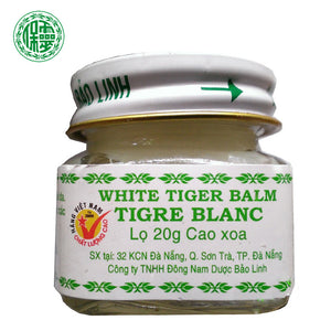 3PCS Original BaoLin Brand Vietnam White Tiger Balm Baume Massage Natural Herb Essential Body Balm Oil For Headache Muscle Pain - Always Happy Shopping