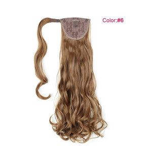 Synthetic Hair Pony Tail Extensions - Always Happy Shopping