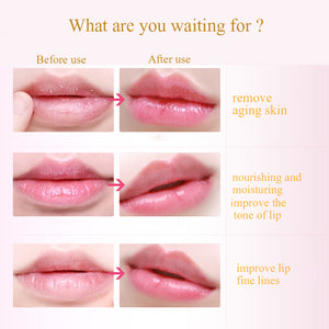 10pcs Collagen Lip Mask Crystal Pads Anti-Ageing Membrane Moisture Ageing Wrinkle Lip Patches Essence Lips Plumper Skin Care - Always Happy Shopping