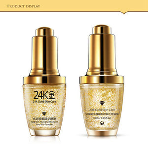 BIOAQUA Brand Skin Care 24K Gold Essence Anti Wrinkle Face - Always Happy Shopping