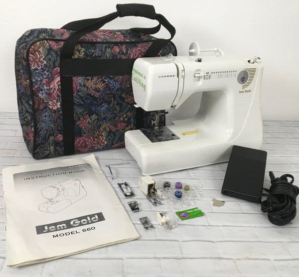 Janome Gold Jem Model 660