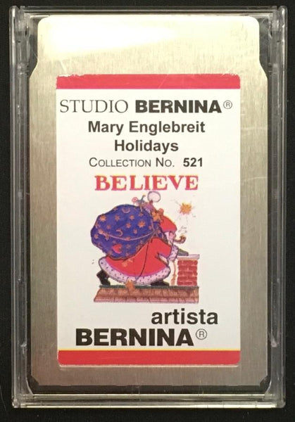 Bernina Artista Mary Englebreit Holidays #521