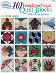101 Foundation-Pieced Quilt Blocks