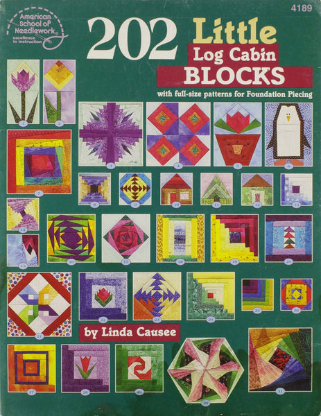 202 Little Log Cabin Blocks