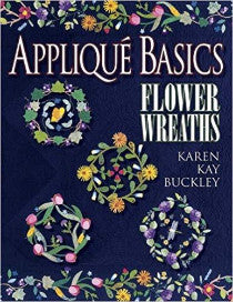 Applique Basics Flower Wreaths