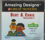 Amazing Designs Bert & Ernie Collection I Memory Card
