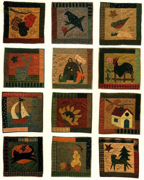 A Folk Art Quilt of the Month