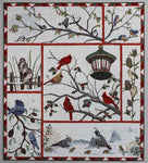 Audubon's Christmas Quilt Block of the Month Kit