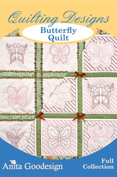 Anita Goodesign Butterfly Quilt
