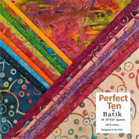 Batik Textiles Dragonfly Spell Perfect Ten