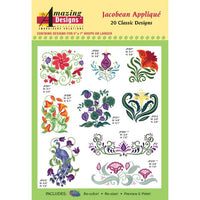 Amazing Designs Jacobean Applique