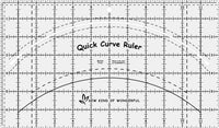 Sew Kind of Wonderful Quick Curve Ruler ©