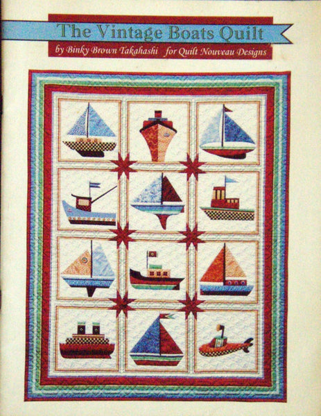 The Vintage Boats Quilt
