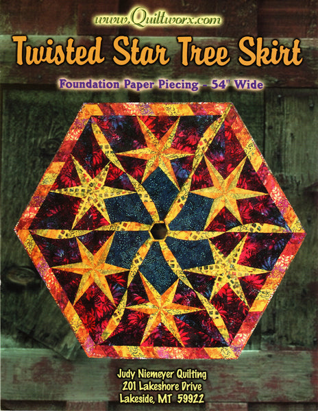 Twisted Star Tree Skirt