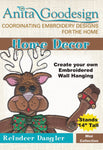 Anita Goodesign Reindeer Dangler