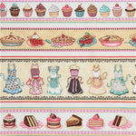 Quilting Treasures Home Sweet Home Fabric Stripe Kitchen