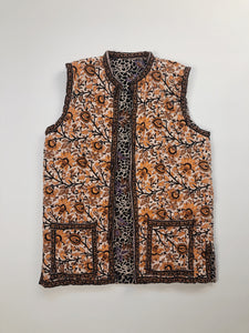 Indian Cotton Quilted Vest